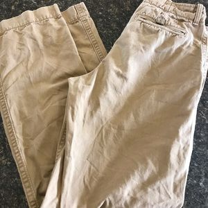 AE American Eagle Mens Chino Khaki Pants 30 x 34